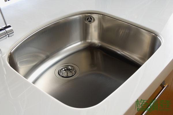 格蘭登廚具 現代極簡系列 實木薄片烤漆 台北作品 精品水槽
