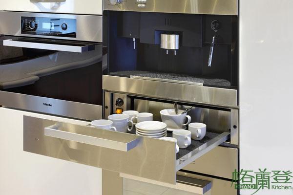 格蘭登廚具 現代極簡系列 鋼琴烤漆 台北作品 溫杯機