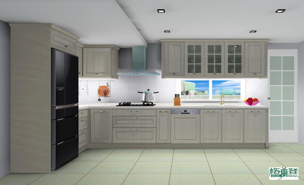 格蘭登新竹門市 2014 廚房整體改修作品