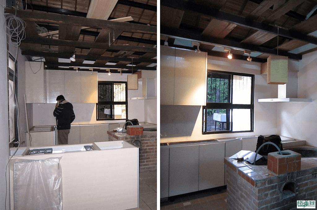 廚房改建 新竹2015陳先生 廚具進場