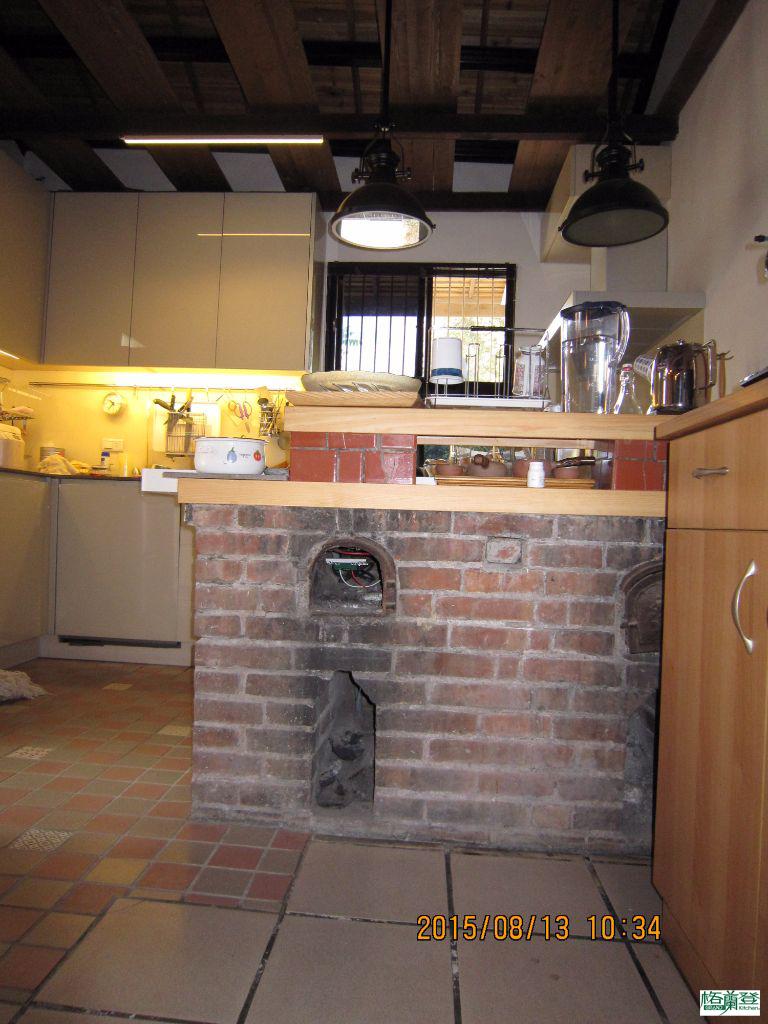廚房改建 新竹2015陳先生 老灶