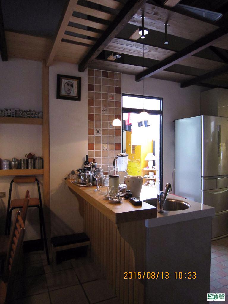 廚房改建 新竹2015陳先生 吧檯
