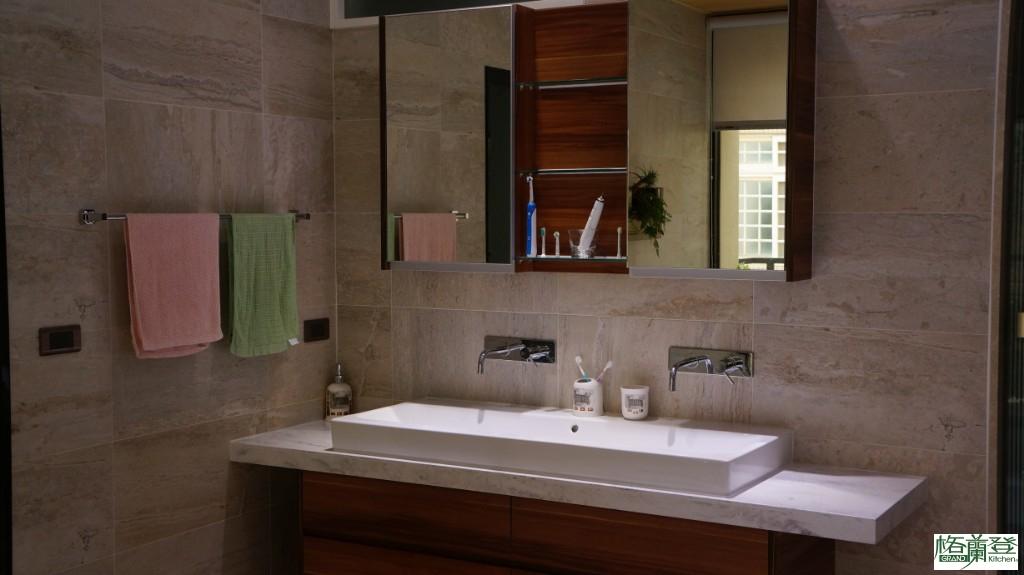 格蘭登新竹門市施公館案例-大盆洗手台