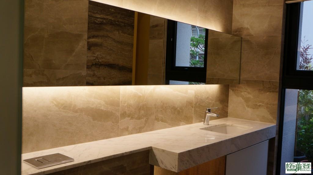 格蘭登新竹門市施公館案例-餐廳衛浴