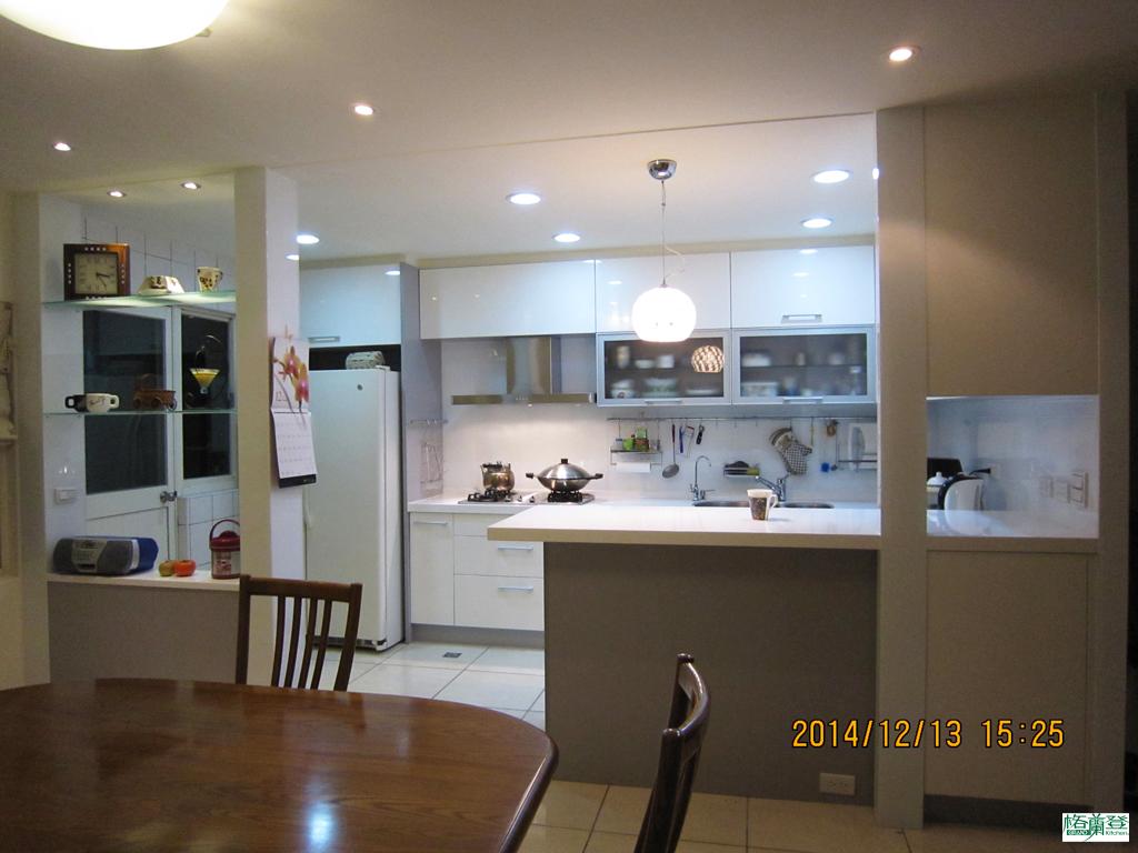廚房改建 新竹2016 劉太太 現代明亮