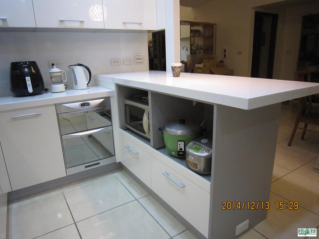 廚房改建 新竹2016 劉太太 電器收納