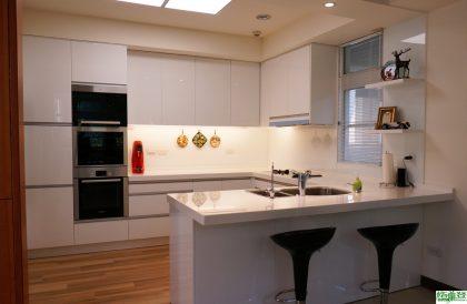 全能廚房改造,源自對屋主生活的尊重體貼 (現代廚房/開放式廚房 格蘭登新竹門市)