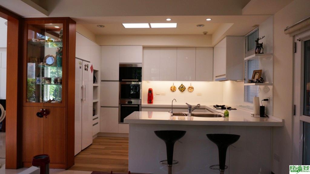 全能廚房改造:視覺美觀