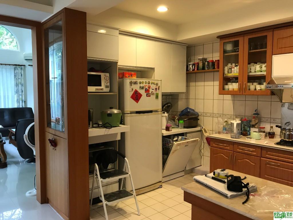 廚房風格不一