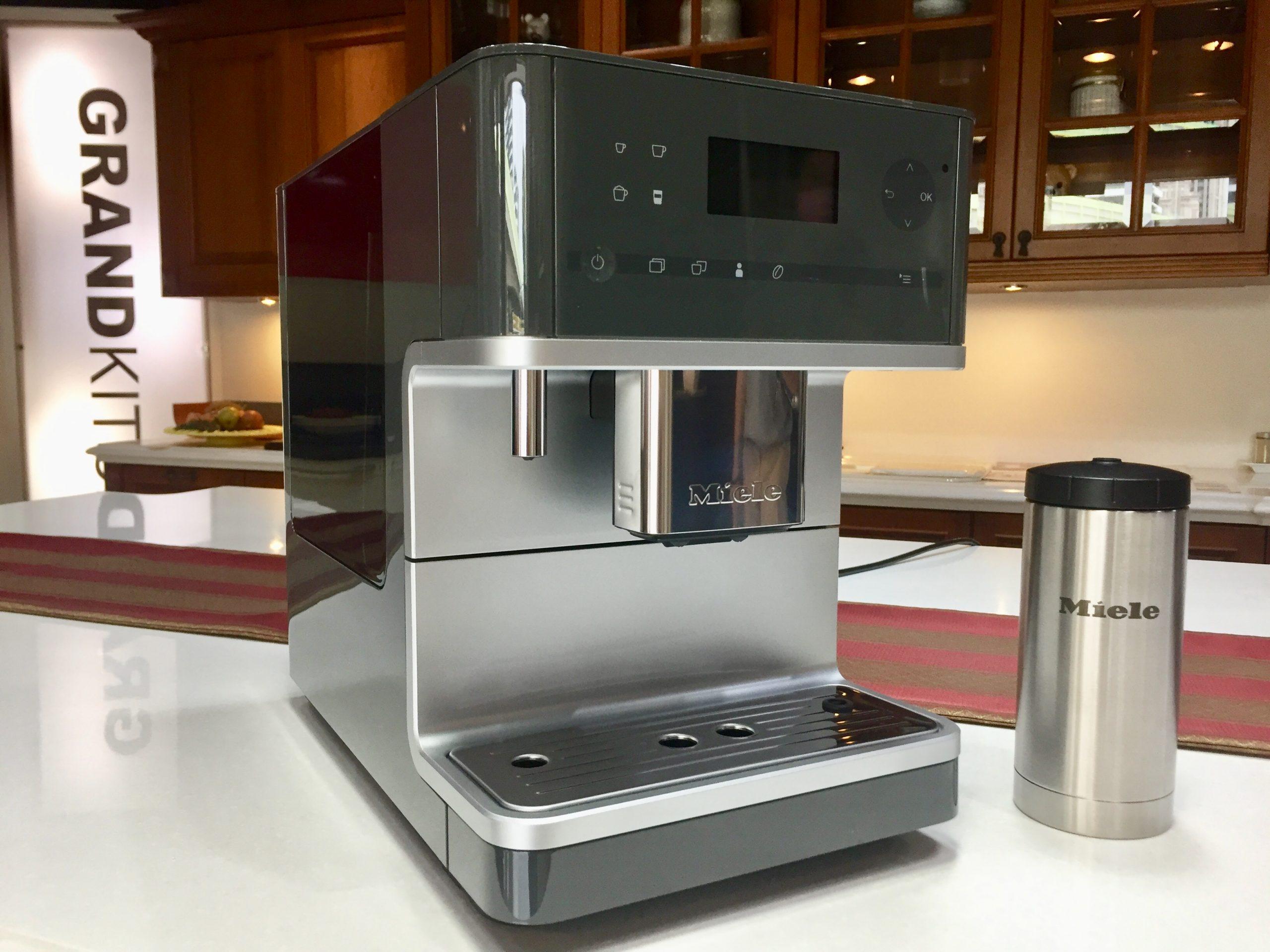 開箱 Miele CM6350 獨立式咖啡機!咖啡新手與行家都能沈浸於獨家 crema 香氣