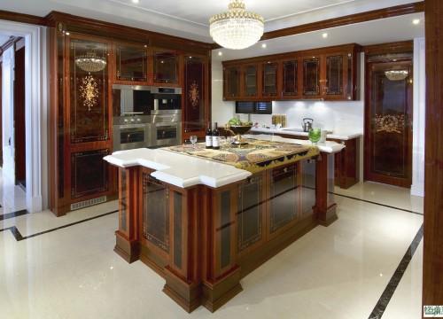 格蘭登台北門市案例 2010 古典奢華 廚房主圖
