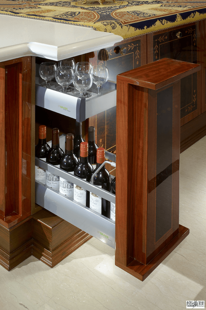 格蘭登台北門市案例 2010 古典奢華 紅酒冰箱