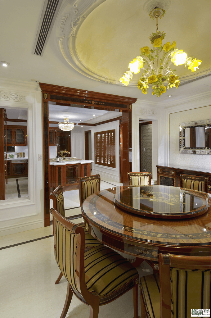 格蘭登台北門市案例 2010 古典奢華 餐廳