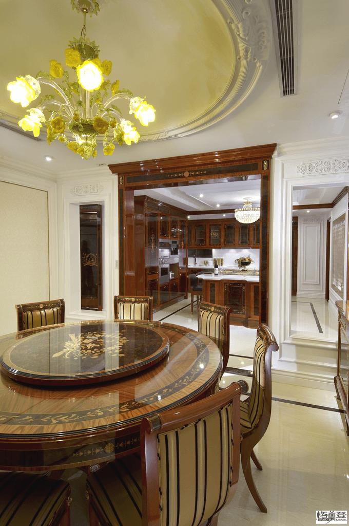 格蘭登台北門市案例 2010 古典奢華 餐廳另一個角度