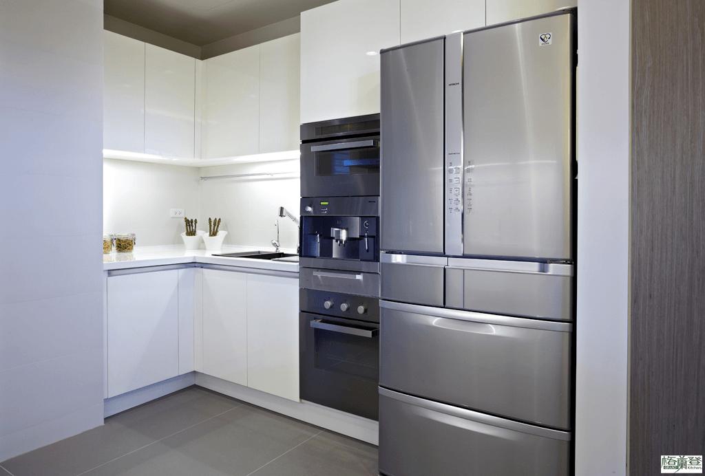 格蘭登台北門市案例 2014 鋼琴烤漆 電器冰箱