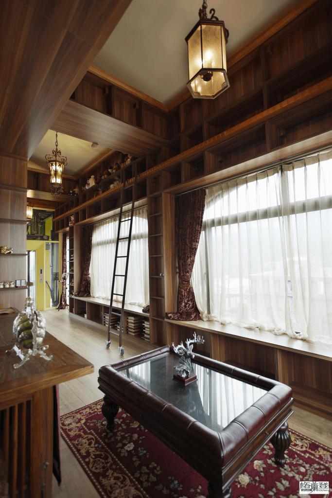格蘭登台北門市案例 2014 古典柚木 書櫃