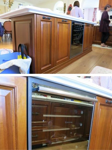 廚房設計 中島紅酒櫃