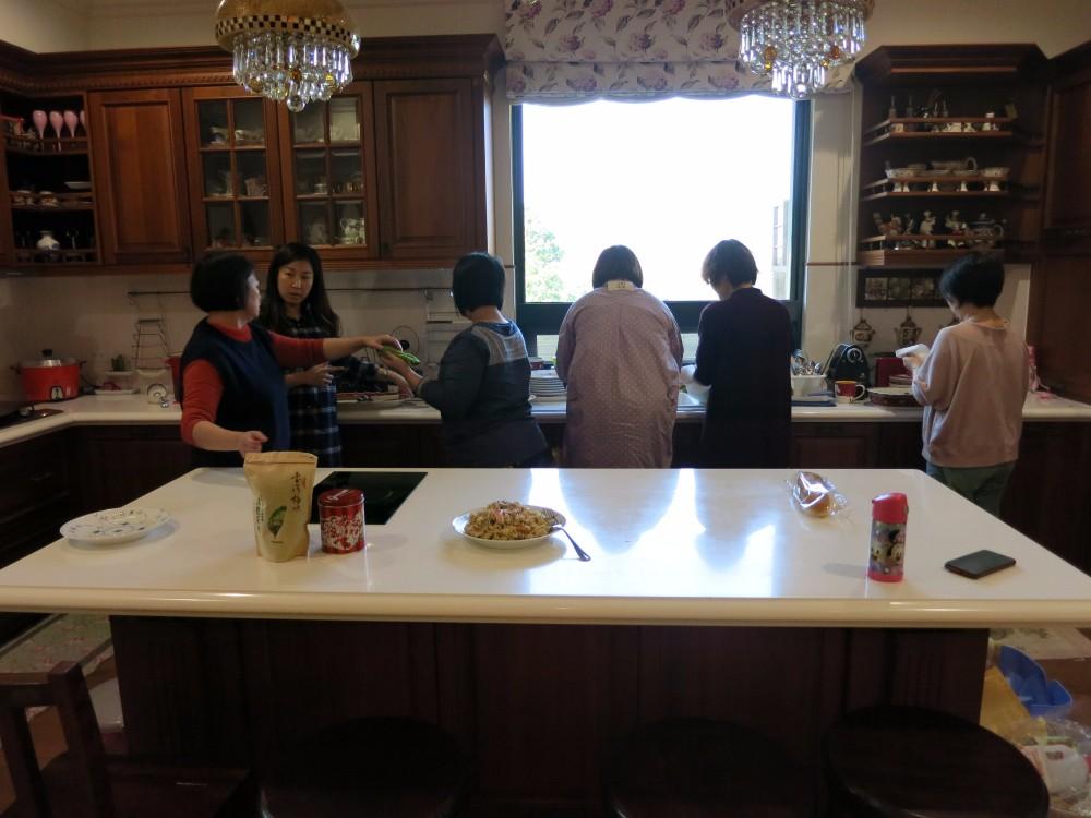 多人使用廚房設計