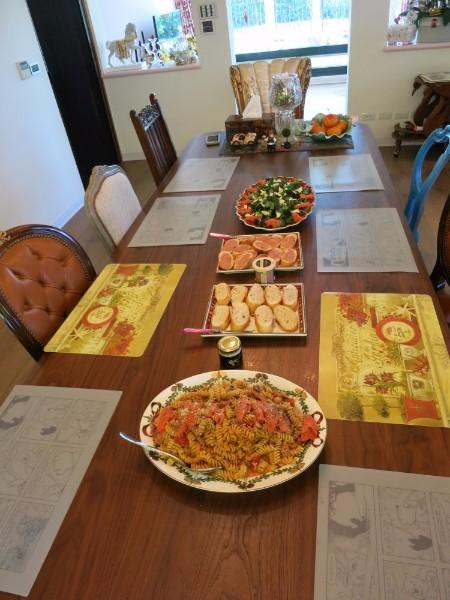 龍太太使用中的廚房 好菜上桌