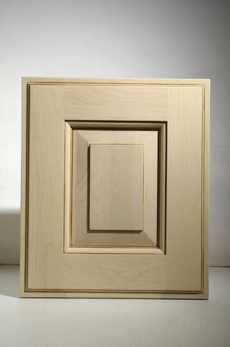 廚房知識分享-楓木四框顯影實木門板