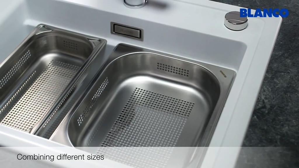 廚房知識交流 Blanco 蒸爐專用水槽 大水槽