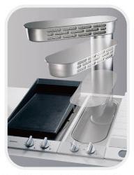 廚房知識分享 抽油煙機GAGGENAU升降式檯面