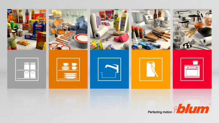 廚房知識交流 全面、量身打造、靈活便利的Blum廚房櫥櫃收納