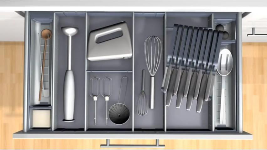 廚房知識分享 Blum置刀架可取出