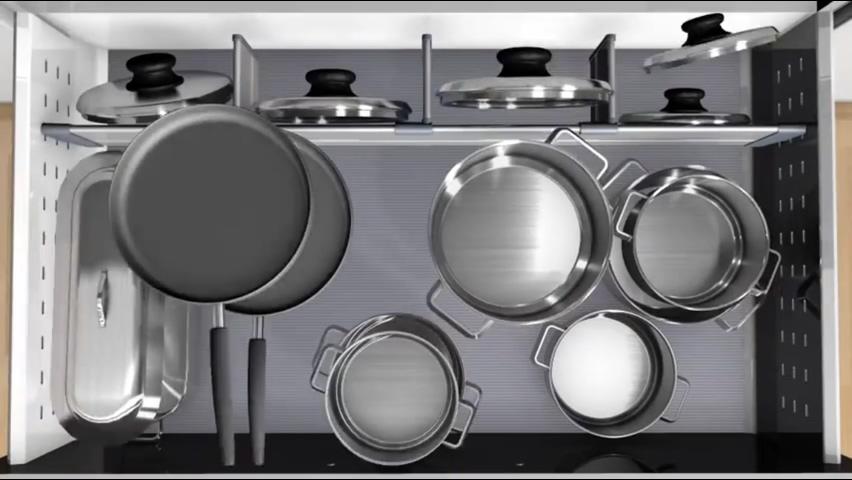 廚房知識分享 Blum鍋具鍋蓋收納
