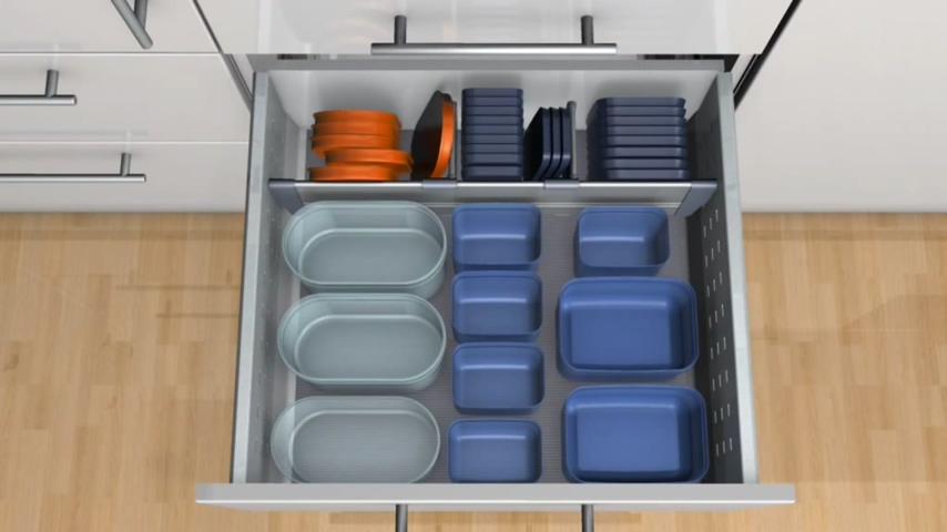 廚房知識分享 Blum塑膠容器收納
