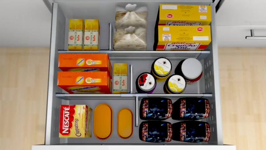 廚房知識分享 Blum罐裝.袋裝,盒裝物品收納