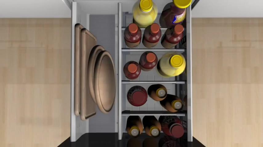 廚房知識分享 Blum瓶裝.罐裝.砧板收納