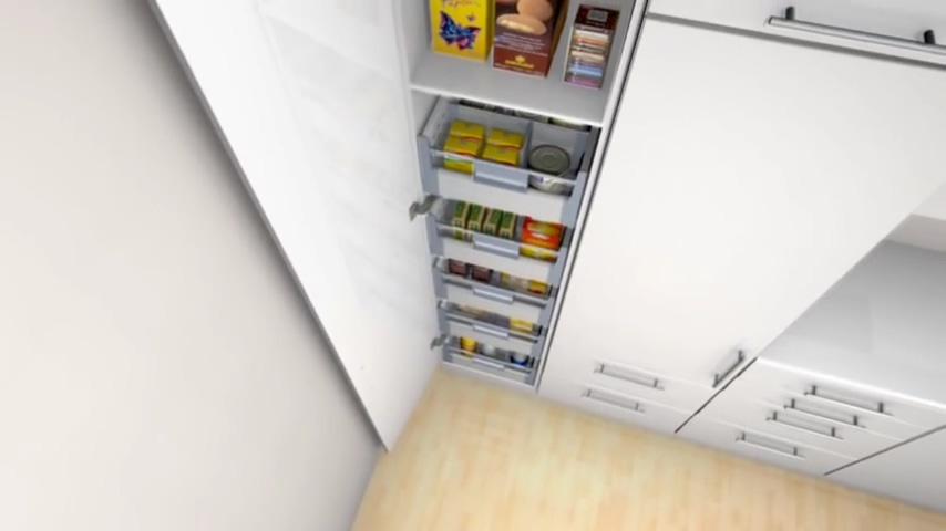 廚房知識分享 大量物品收納
