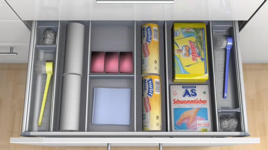 廚房知識分享 水槽下方收納 清潔用具收納