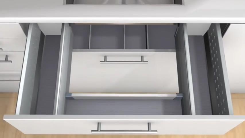 廚房知識分享 水槽下方收納中層抽屜