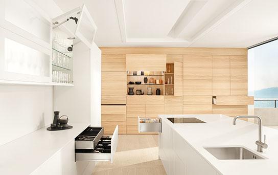 Blum無把手設計五金運用 居家空間皆可運用