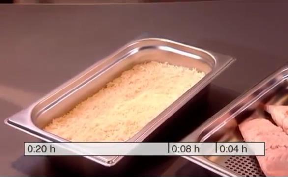 蒸爐 不同時間三道菜烹煮