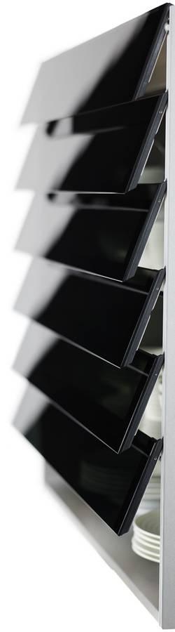 Kesseboehmer電動百葉展示櫃 側面照