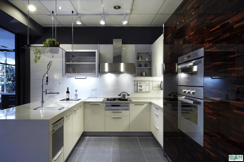 格蘭登廚具 現代極簡系列 陶瓷烤漆 新竹作品 電器