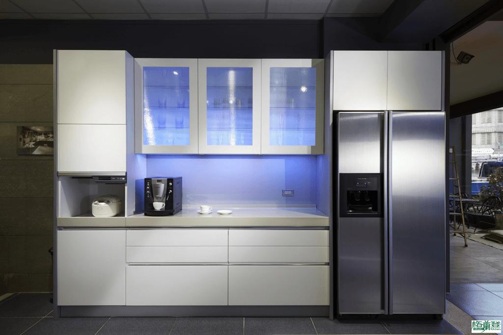 格蘭登廚具 現代極簡系列 陶瓷烤漆 新竹作品 收納櫃