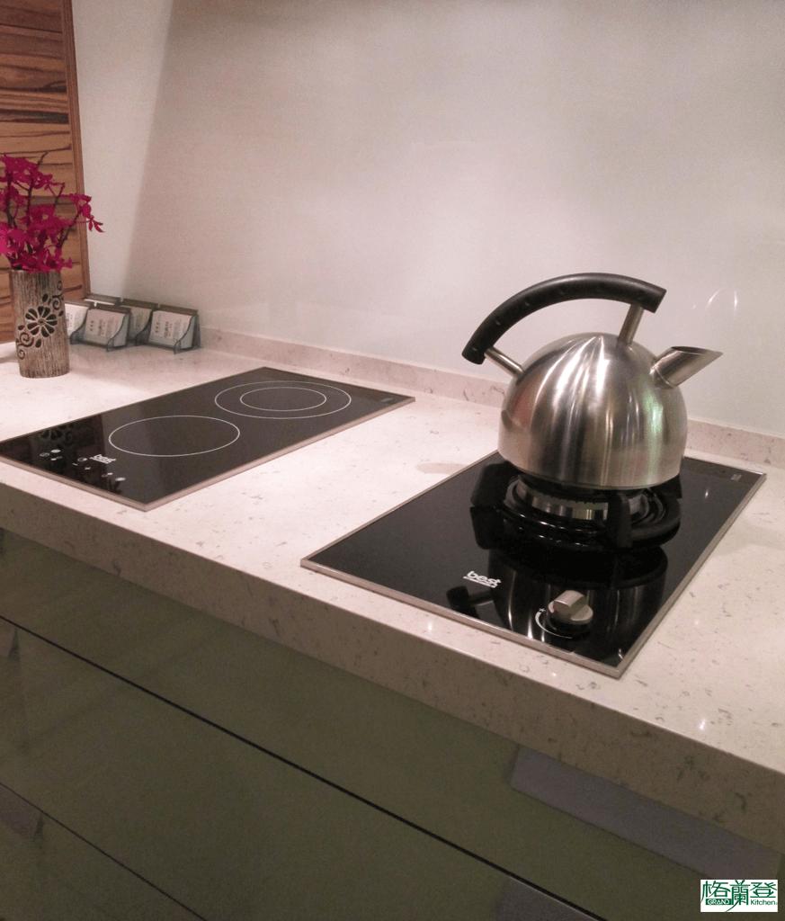 格蘭登廚具 現代極簡系列 新竹作品 電爐+瓦斯爐