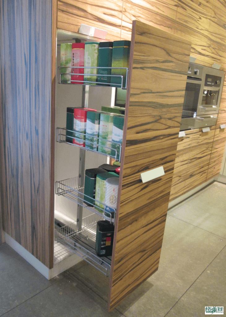 格蘭登廚具 現代極簡系列 新竹作品 收納櫃