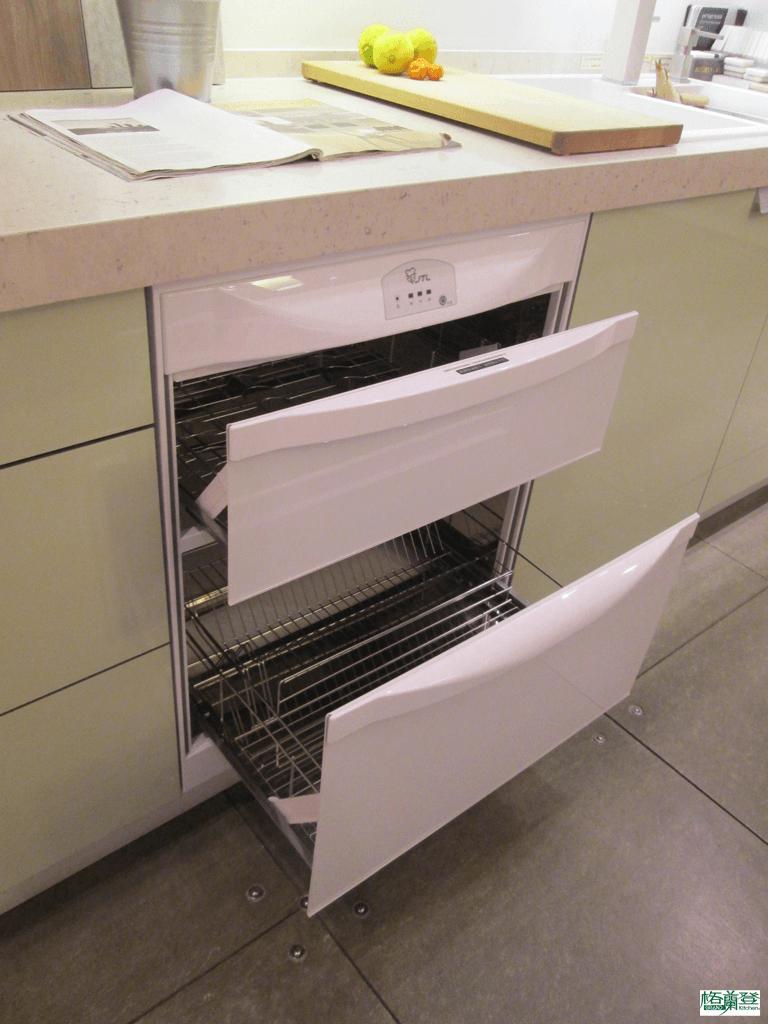 格蘭登廚具 現代極簡系列 新竹作品 喜特麗烘碗機