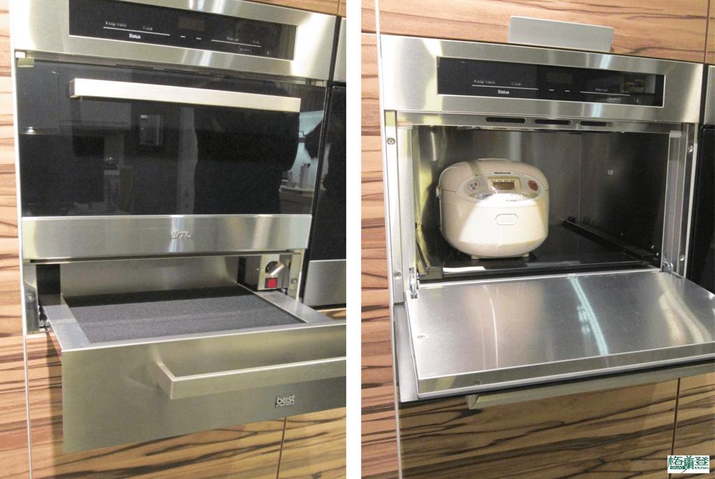 格蘭登廚具 現代極簡系列 新竹作品 炊飯鍋收納櫃