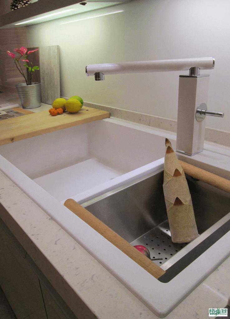 格蘭登廚具 現代極簡系列 新竹作品 德國Blanco水槽