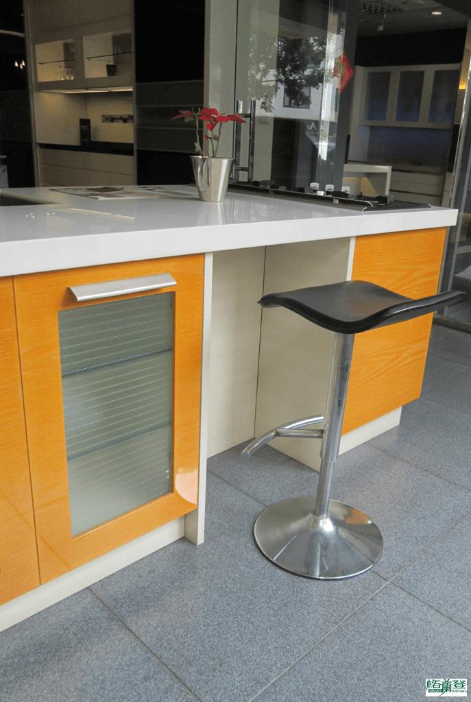 格蘭登廚具 現代極簡系列 新竹作品 樣品介紹 廚房休息站