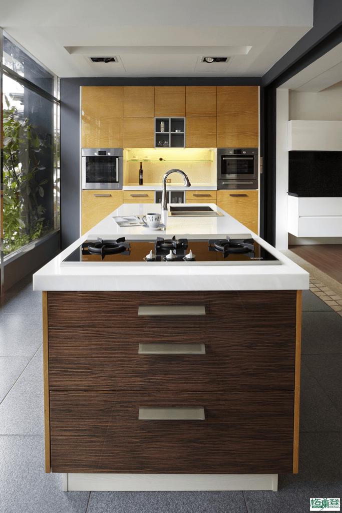 格蘭登廚具 現代極簡系列 新竹作品 樣品介紹 主圖