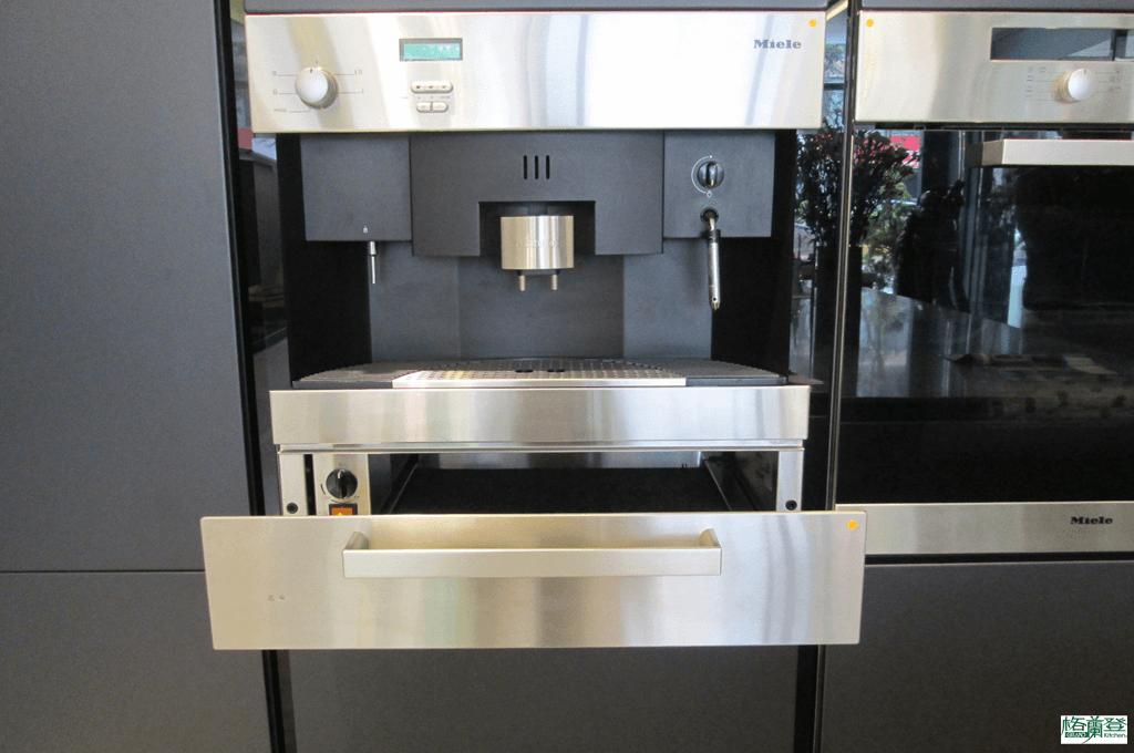 格蘭登廚具 現代極簡系列 新竹作品 Miele咖啡機