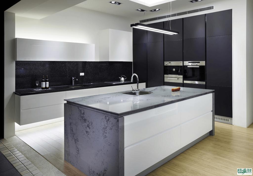 格蘭登廚具 現代極簡系列 新竹作品 中島櫃