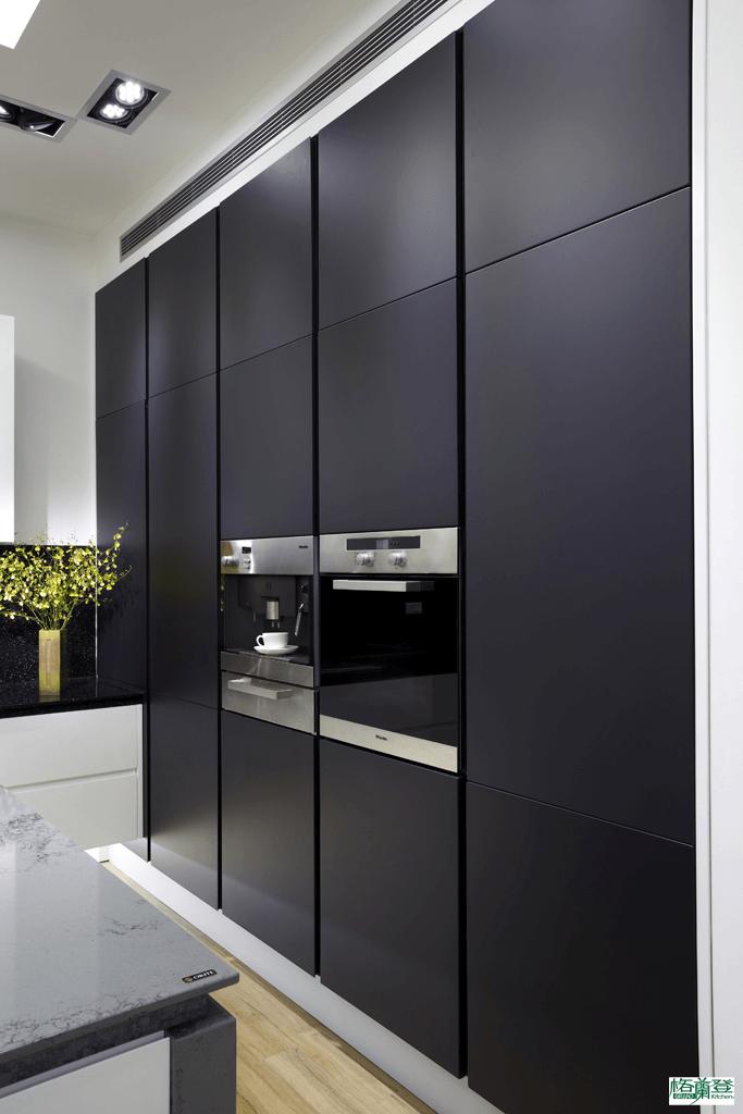 格蘭登廚具 現代極簡系列 新竹作品 電器櫃牆